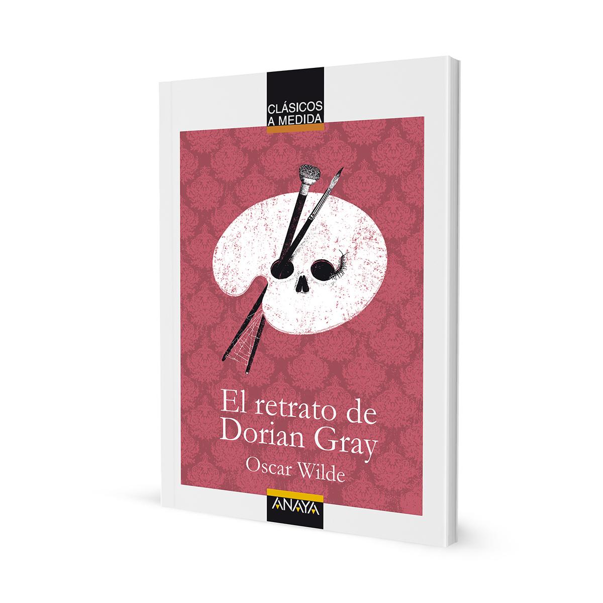 El retrato de Dorian Gray. Portada. Libros ilustrados by Goyo