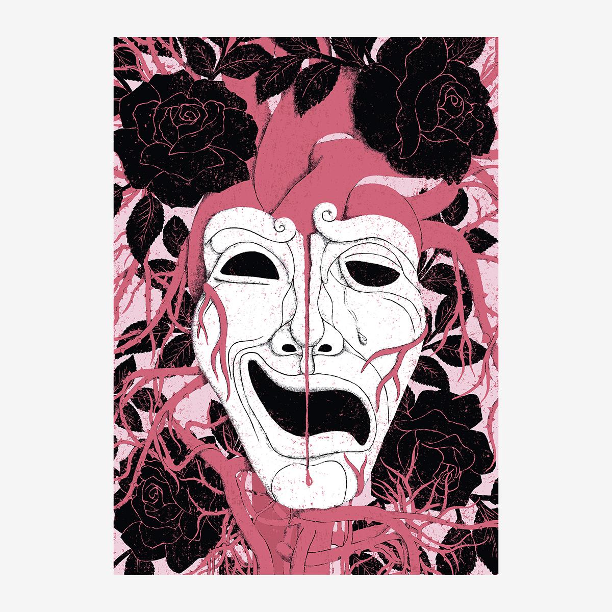 """4- Cap. VII / """"Teatro"""" Retrato de Dorian Gray. Ilustración de Goyo Rodríguez"""