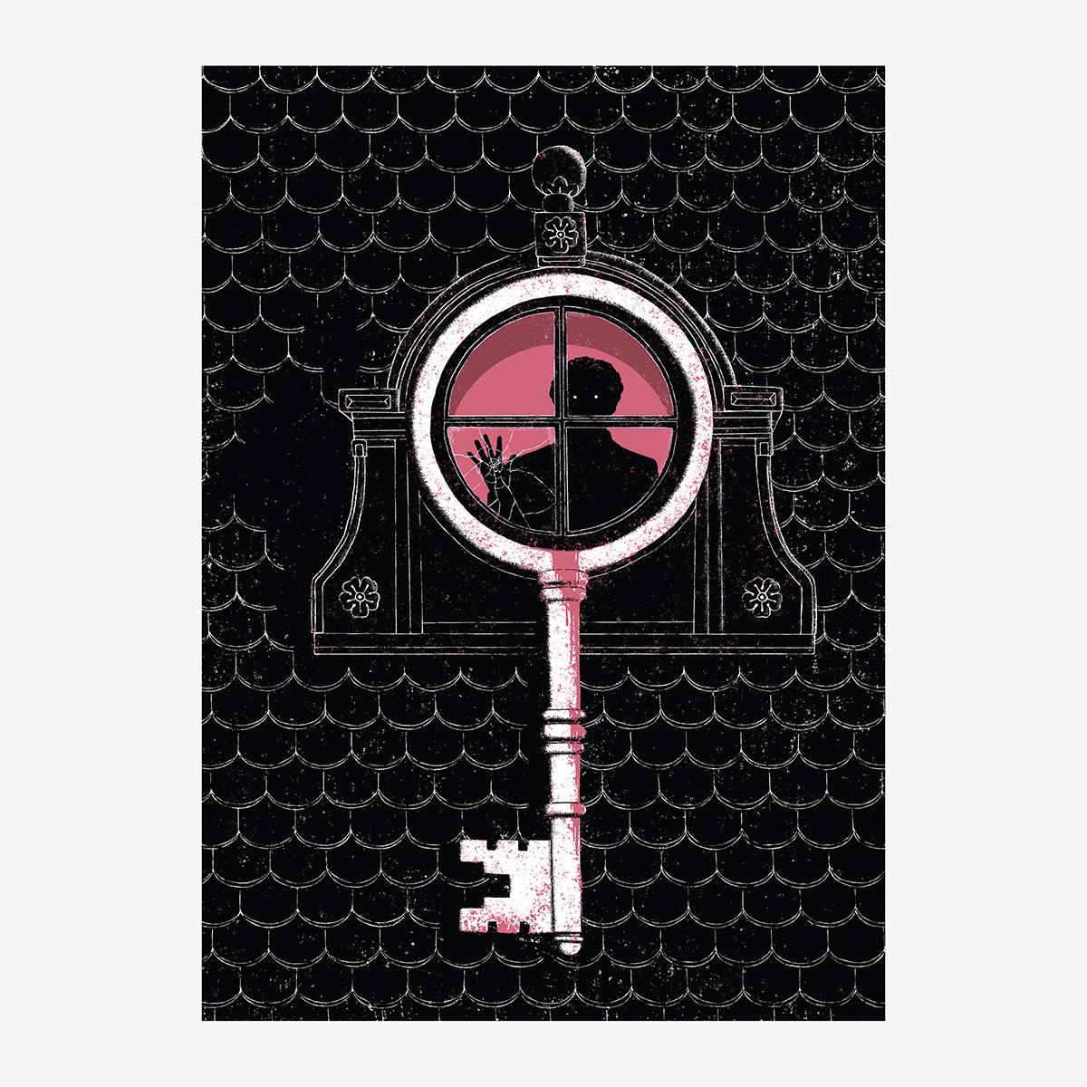 """7- Cap. X / """"El viejo cuarto de estudio"""" Ilustración de Goyo Rodríguez"""