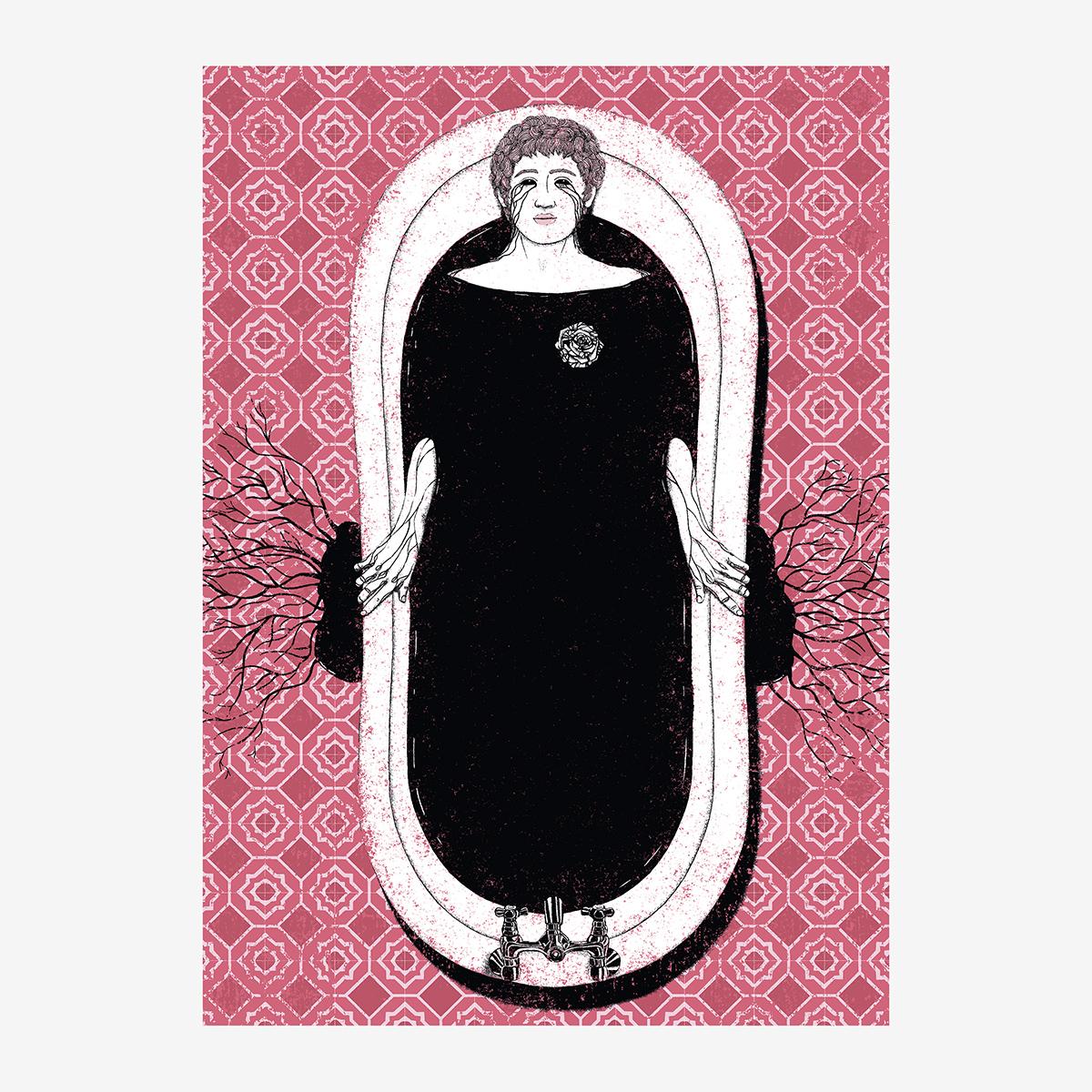 """5- Cap. XII / """"Mi alma"""". Ilustración de Goyo Rodríguez"""