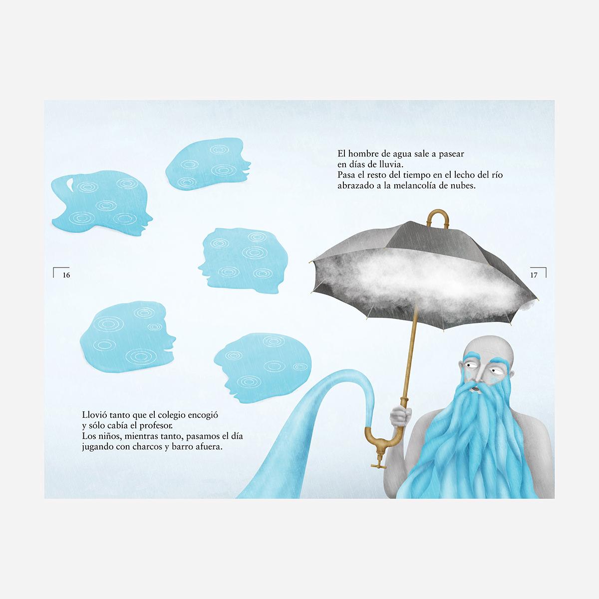 Cuentos mínimos. Libro infantil ilustraciones Goyo Rodríguez.
