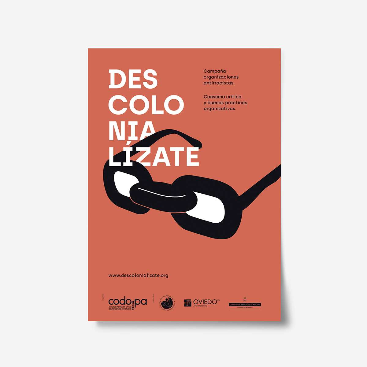 Descolonialízate. Carteles by Goyo Rodríguez
