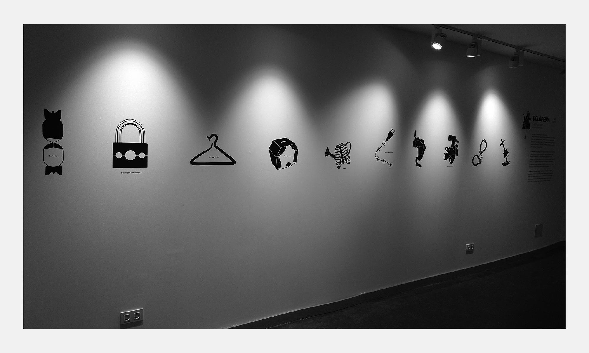 Dolopedia. Exposiciones conceptraciones by Goyo Rodríguez
