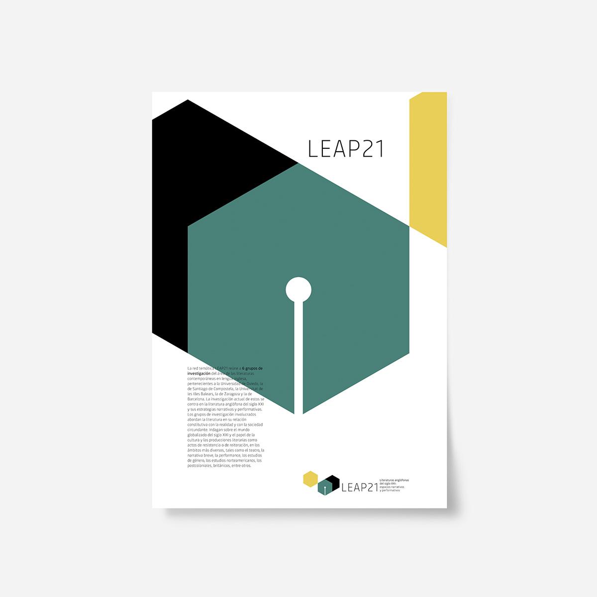 Diseño cartel LEAP21. Goyo Rodríguez
