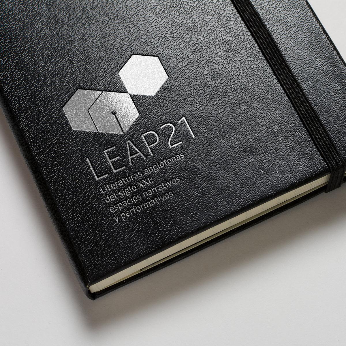 Diseño identidad LEAP21 por Goyo Rodríguez