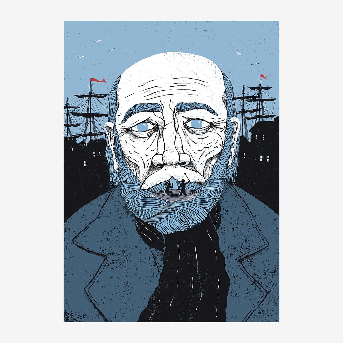 Cap. IV / «El profeta» ilustrado por Goyo Rodríguez