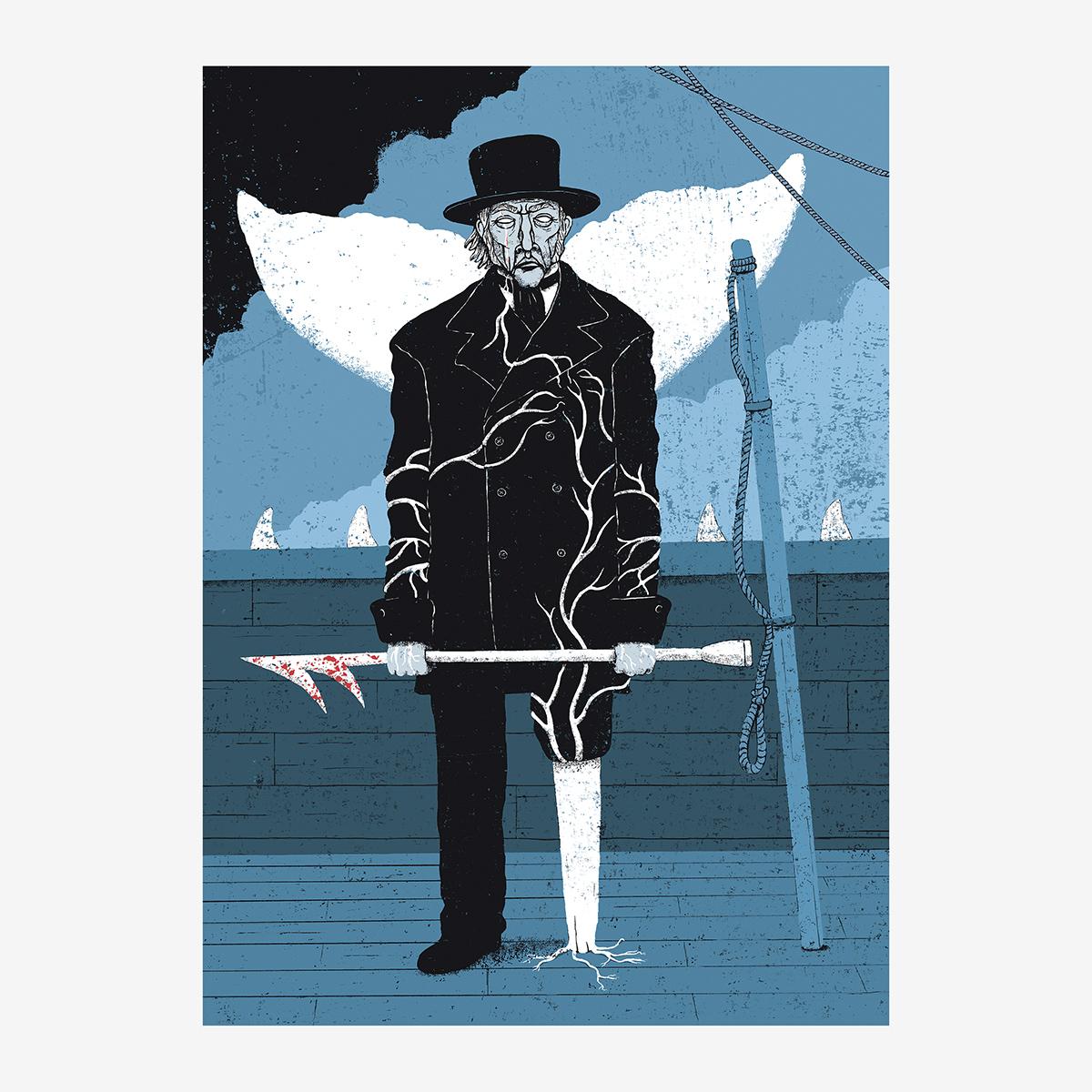Cap. VI / «La promesa», ilustración Goyo Rodríguez para Moby Dick
