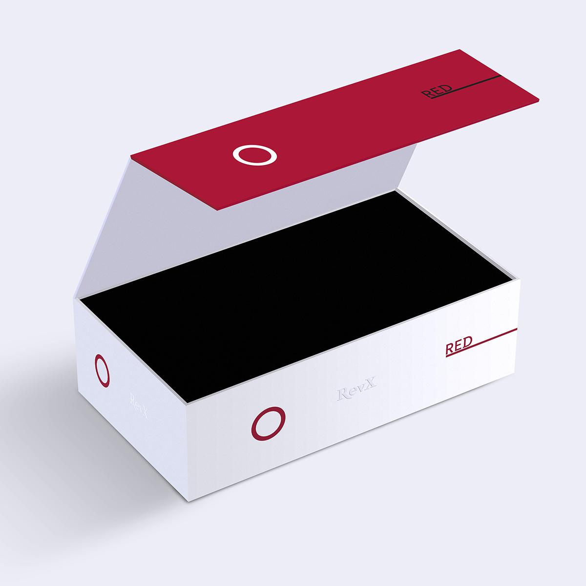 RevX. Diseño de packing, envase y etiquetado por Goyo Rodríguez.