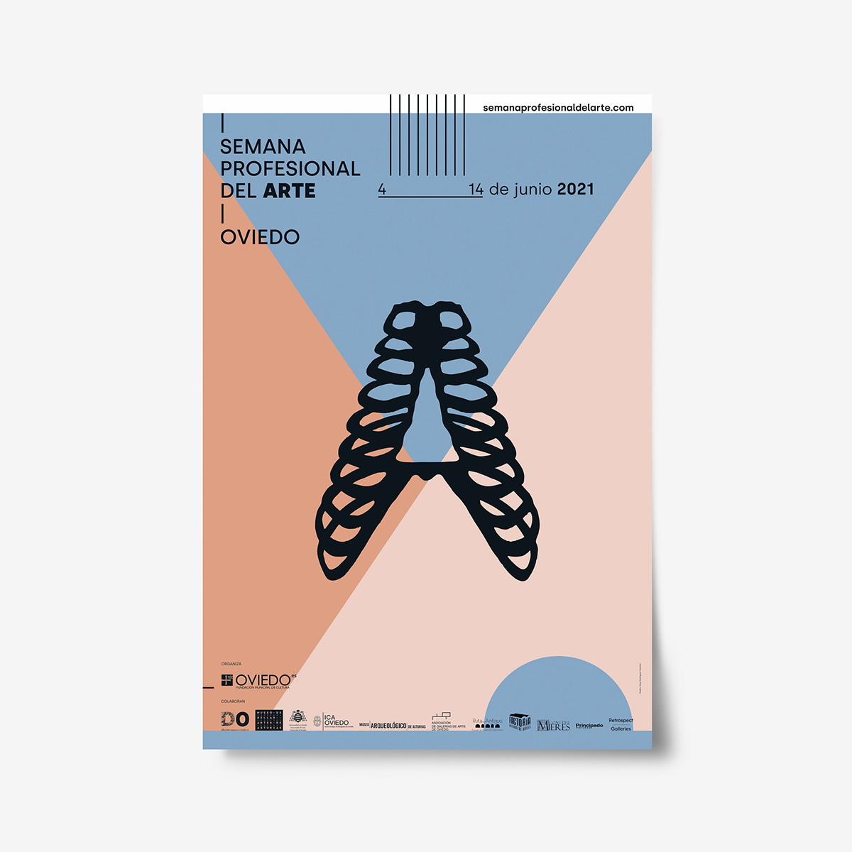 5 Sentidos. Cartel Olfato. Semana Profesional del Arte de Oviedo by Goyo Rodríguez