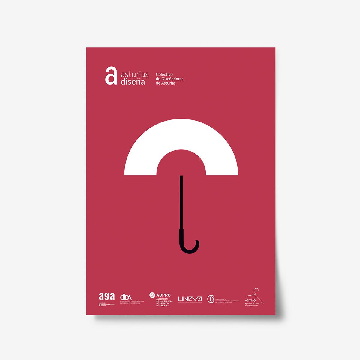 COLECTIVO ASTURIAS DISEÑA. Diseño identidad y carteles Goyo Rodríguez