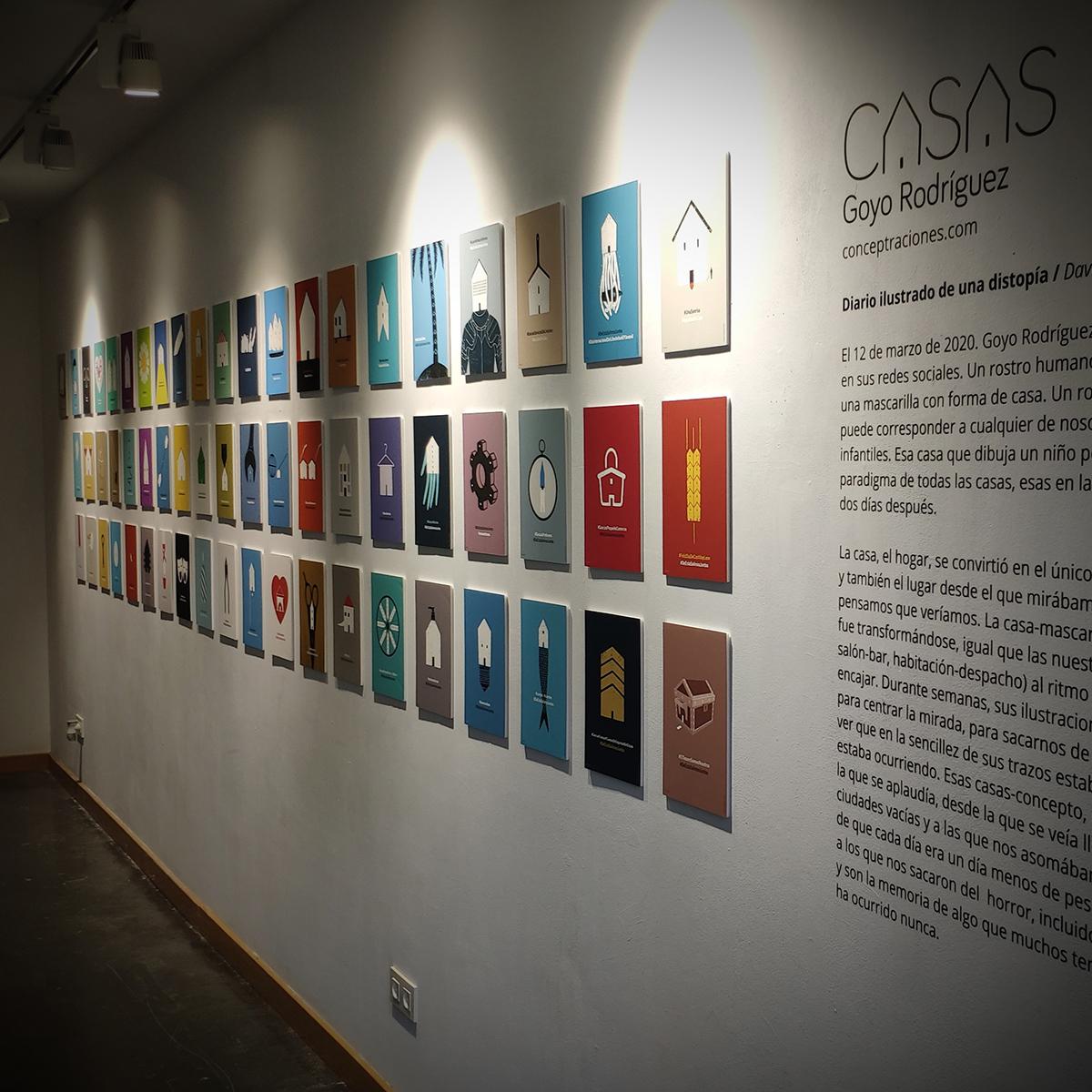 Exposición CASAS / Decero Espacio Creativo / 11-30 de junio 2020