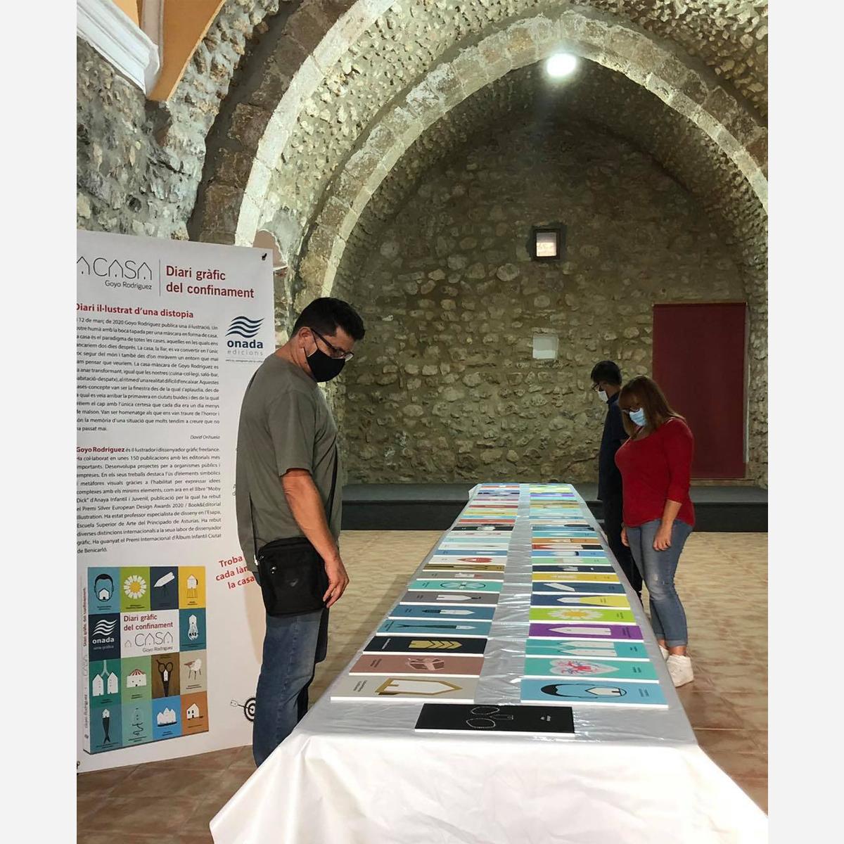 Exposición de «Casas» Santa Magdalena de Polpis