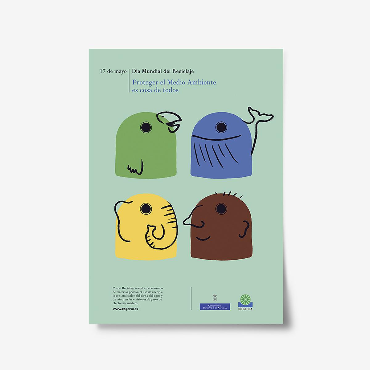 Cogersa Dia Mundial del reciclaje. Goyo Rodriguez_