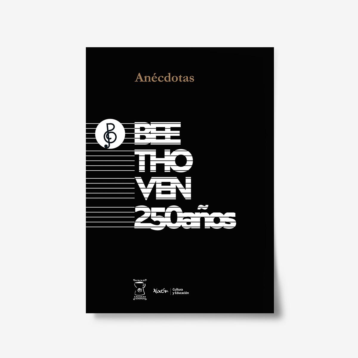 Exposición celebración del 250 aniversario de Ludwing van Beethoven. Ilustraciones Goyo Rodríguez