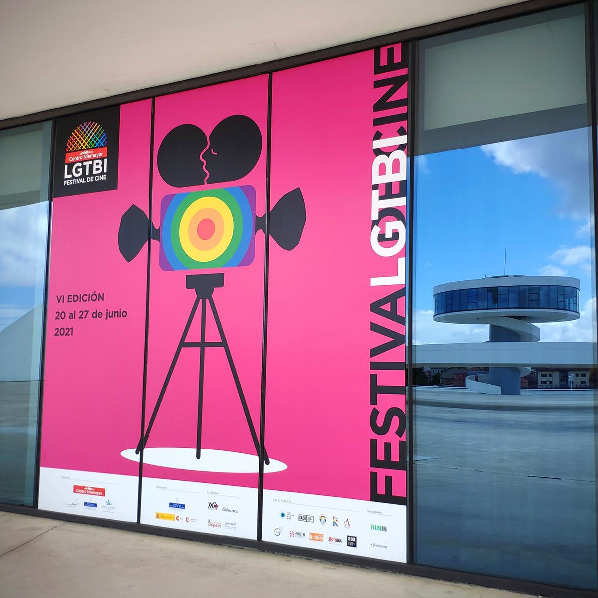 Imagen by Goyo Rodríguez para el Festival de Cine LGTBI 2021