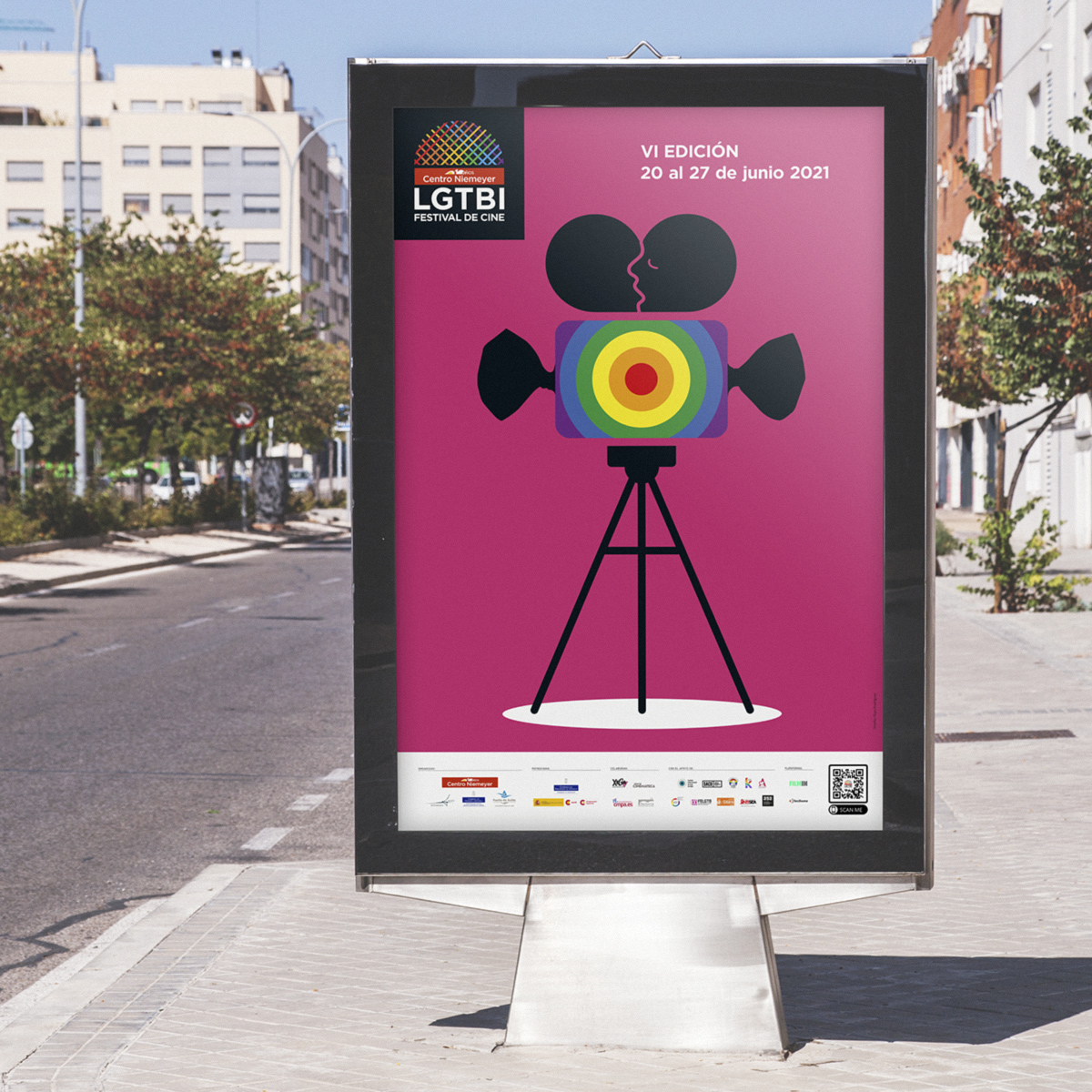 Mupi Festival de Cine Centro Niemeyer, Avilés. Goyo Rodríguez
