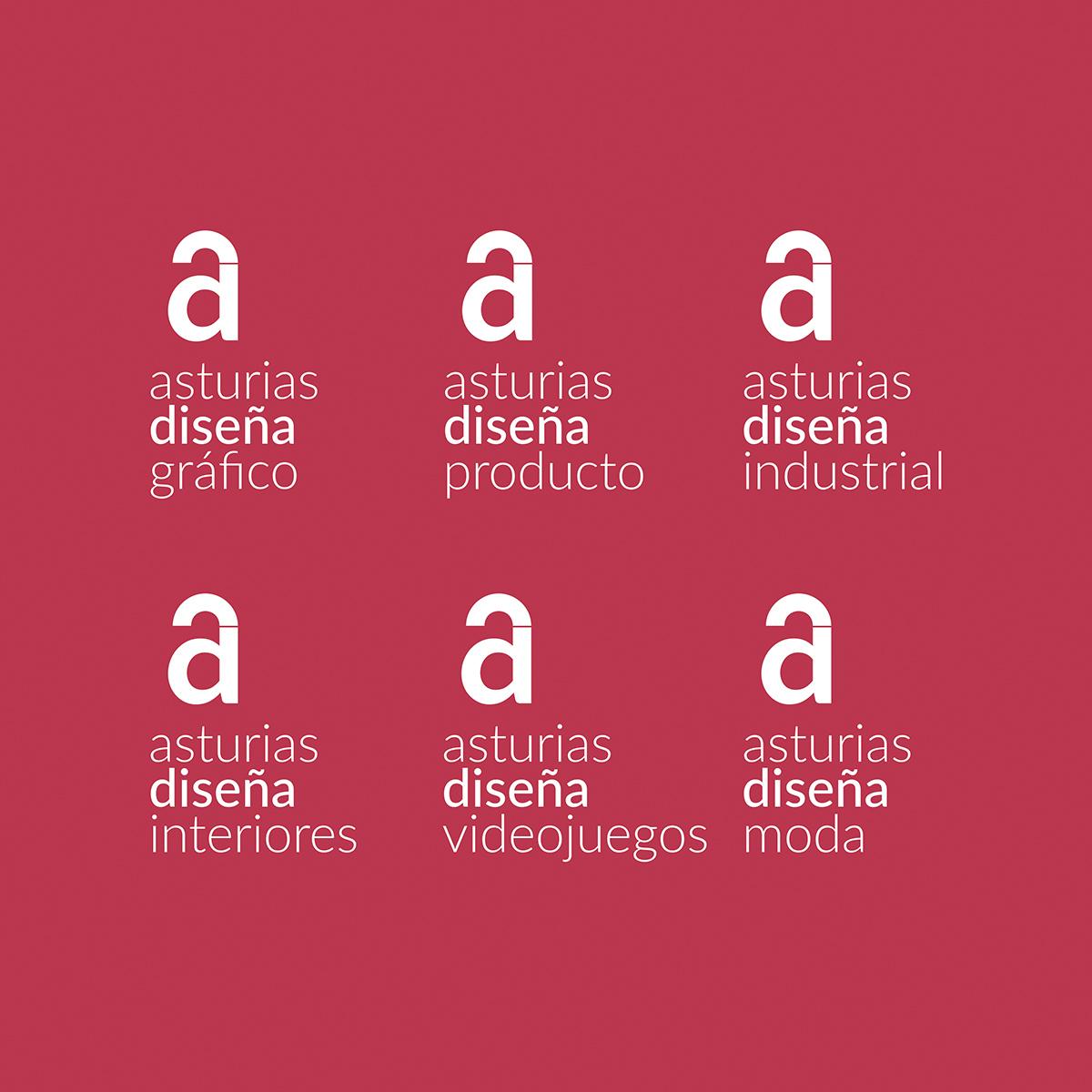 COLECTIVO ASTURIAS DISEÑA. Diseño identidad Goyo Rodríguez