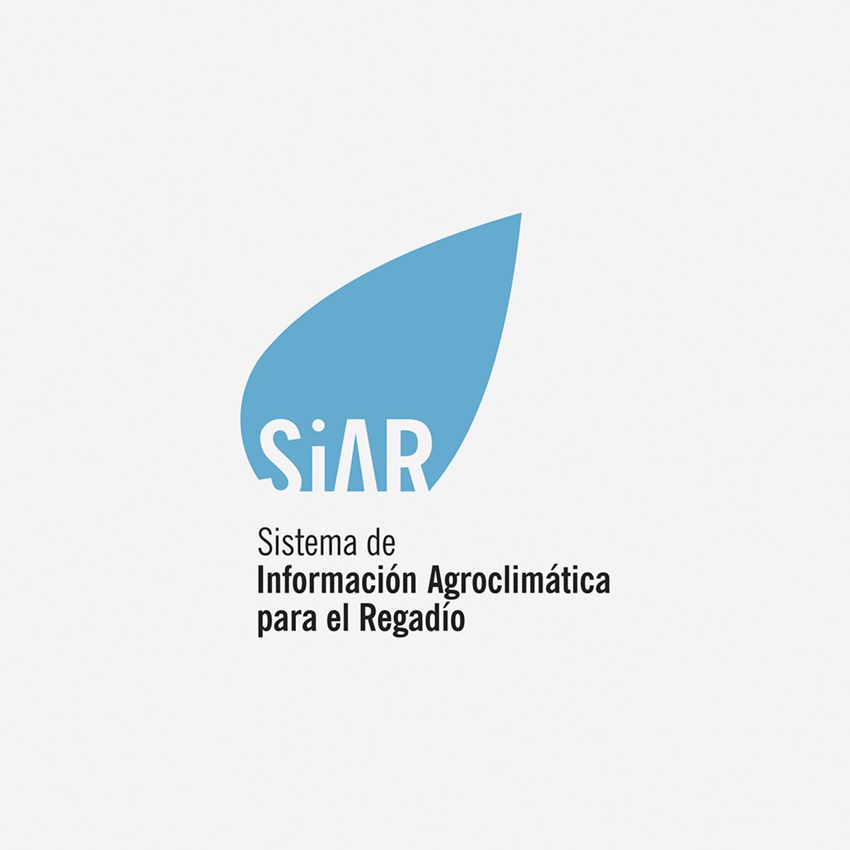 SiAR Logotipo, diseñado por Goyo Rodríguez