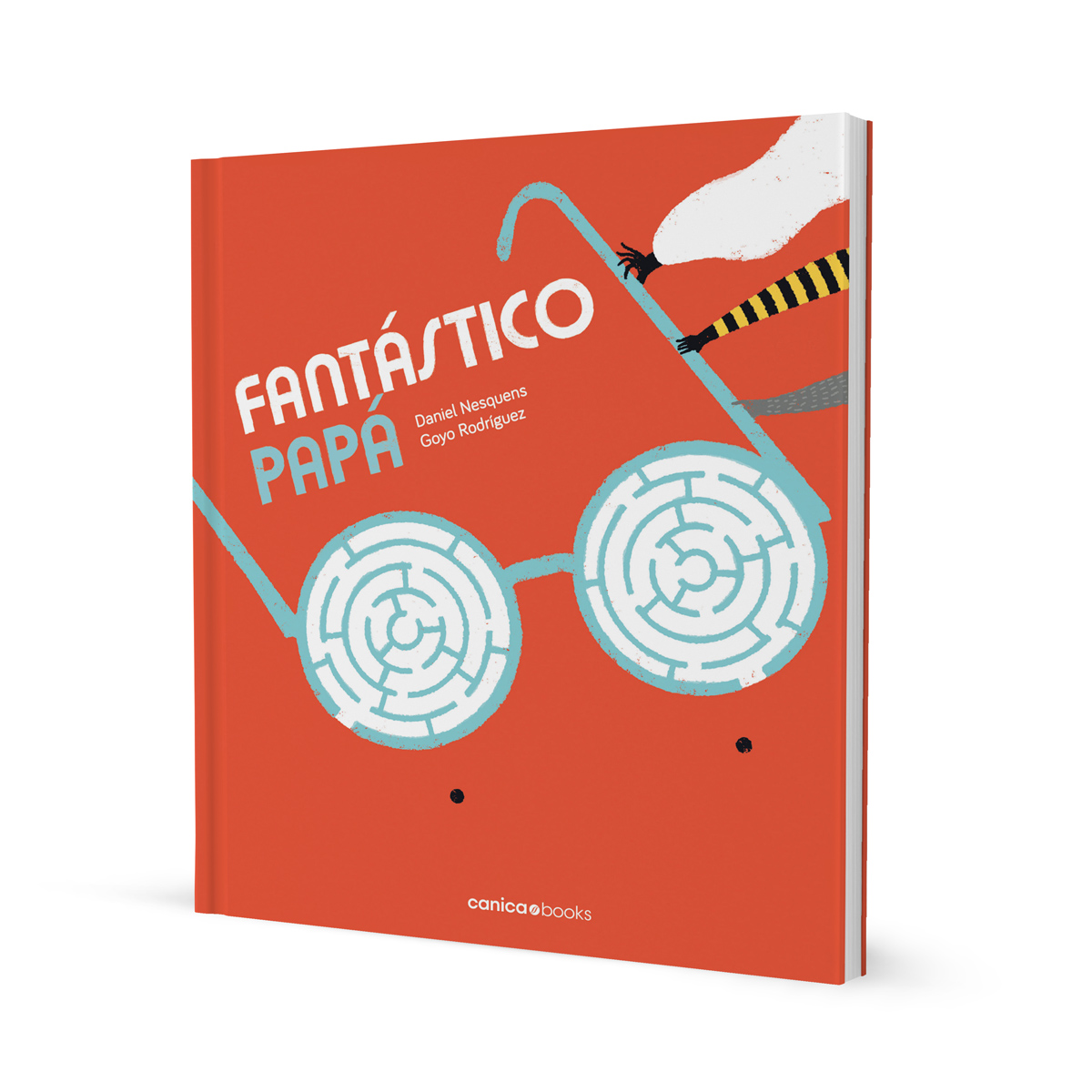 Fantástico Papá. Libros infantiles ilustrados por Goyo Rodríguez