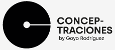 Conceptraciones by Goyo Rodríguez. Logotipo